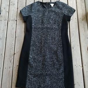J.Crew wool polyester blend career dress